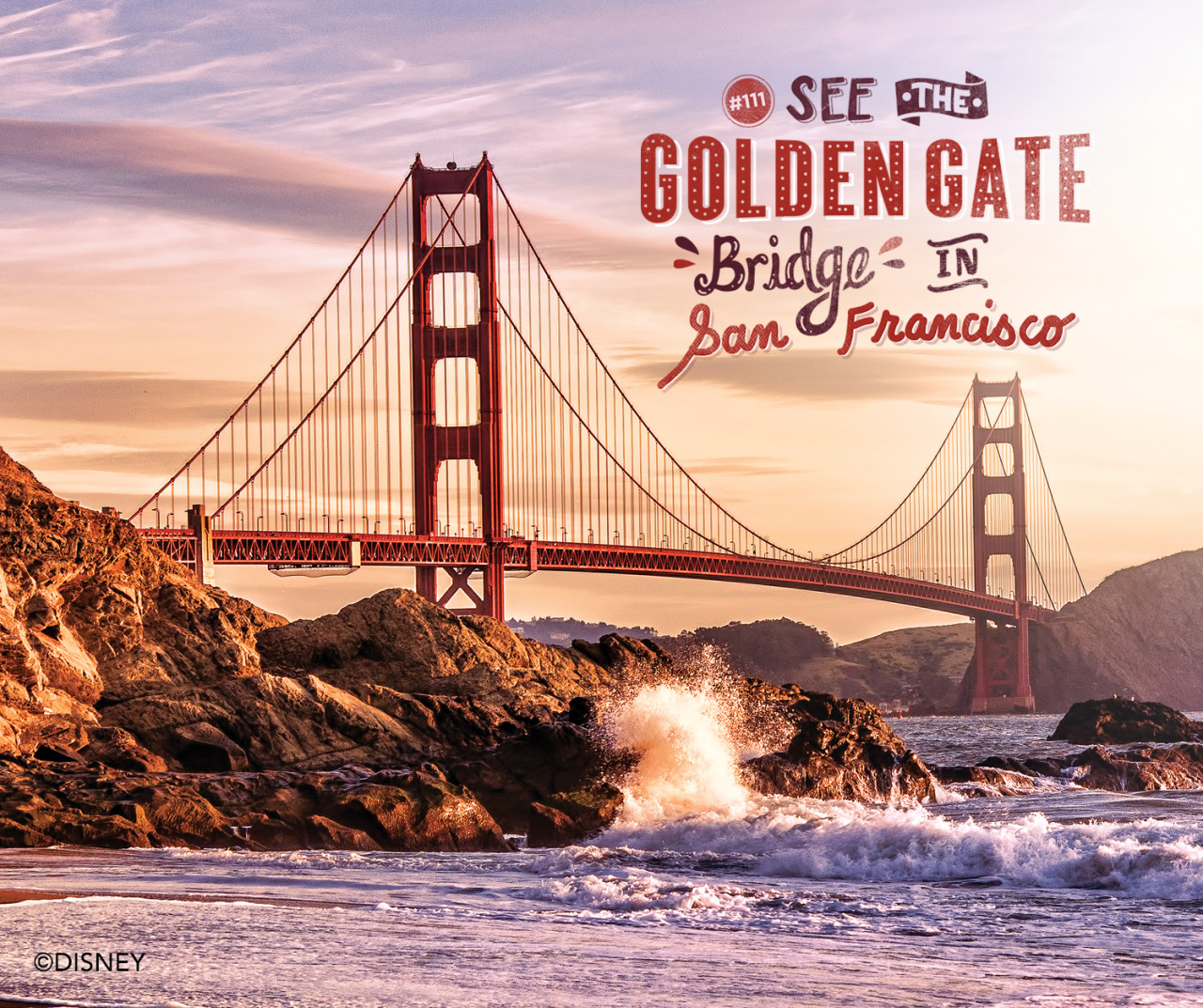 See The Golden Gate Bridge in San Francisco