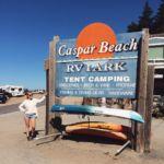 Caspar Beach, California by mariekepauline