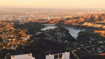 Good Morning from Hollywood Hills by Connor McSheffrey