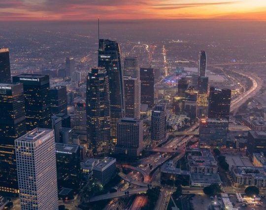 Los Angeles, California by Dylan Schwartz